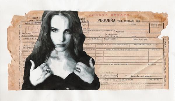 Simone Simons by Estherproductos